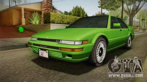 GTA 4 Dinka Hakumai for GTA San Andreas