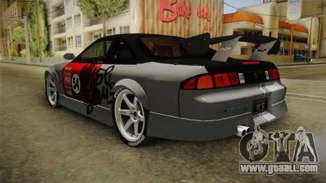 Nissan 200SX (S14) for GTA San Andreas right view
