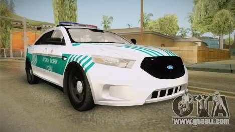 Ford Taurus Turkish Highway Patrol for GTA San Andreas