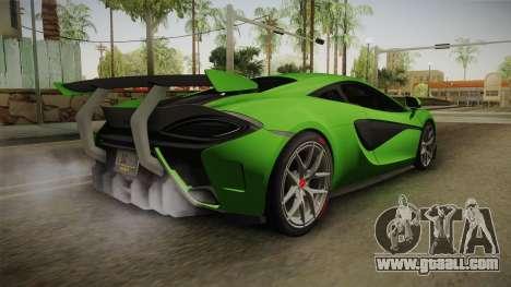 McLaren Vorsteiner 570-VX for GTA San Andreas left view