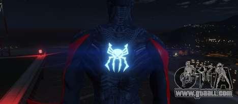 GTA 5 Spiderman 2099 third screenshot