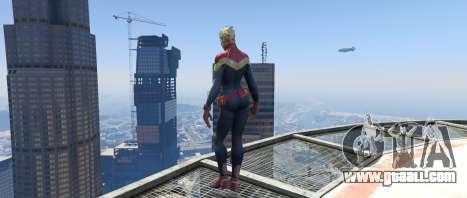 GTA 5 Captain Marvel (ANAD) second screenshot