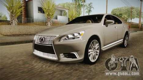 Lexus LS 460 Interior for GTA San Andreas
