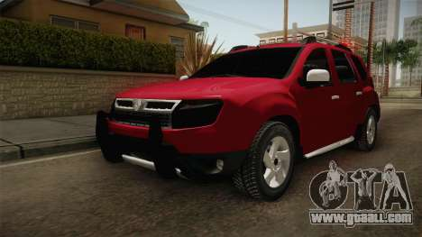 Renault Duster for GTA San Andreas right view