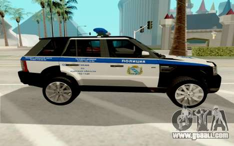 Range Rover Sport Police for GTA San Andreas left view