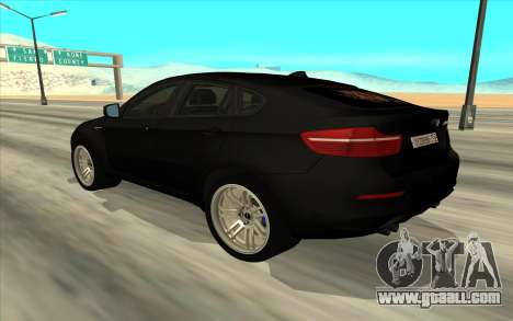 BMW X6 for GTA San Andreas right view