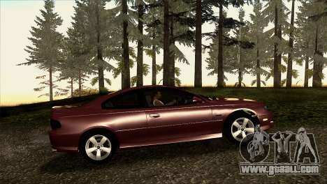 2005 Pontiac GTO IVF v 1.1 [Tunable] for GTA San Andreas left view