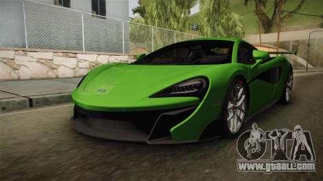 McLaren Vorsteiner 570-VX for GTA San Andreas right view
