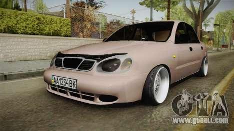 Daewoo Lanos Sedan 2001 for GTA San Andreas