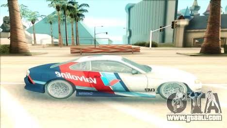 Nissan Silvia S15 Facelift Chaser Valvoline for GTA San Andreas left view