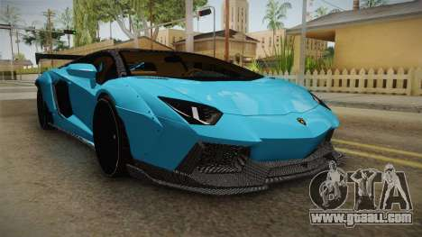 Lamborghini Aventador LP700-4 LB Walk v2 for GTA San Andreas right view
