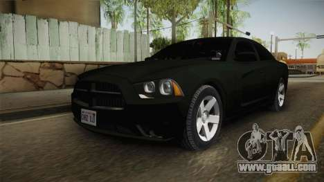Dodge Charger 2013 Unmarked Iowa State Patrol for GTA San Andreas