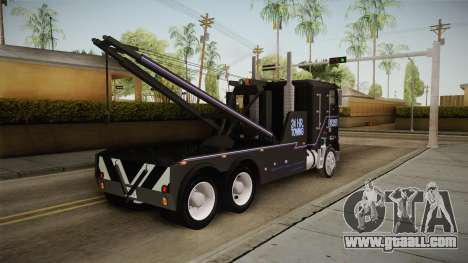 Freightliner FLA 9664 v1.0 for GTA San Andreas right view