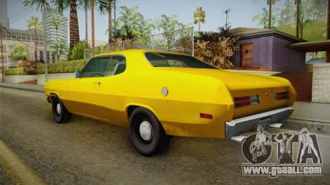 Plymouth Duster 1972 for GTA San Andreas left view