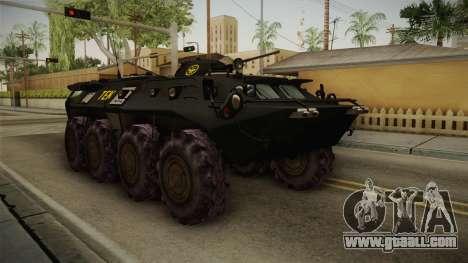 Hungary Police TEK APC for GTA San Andreas right view