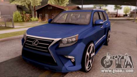 Lexus GX460 for GTA San Andreas