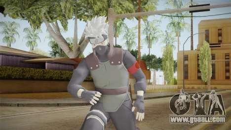 NUNS4 - Kakashi The Last Sharigan for GTA San Andreas