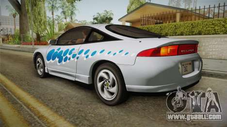 Mitsubishi Eclipse GSX 1995 IVF for GTA San Andreas