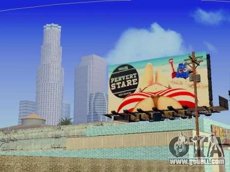 GTA V Billboards v2 for GTA San Andreas
