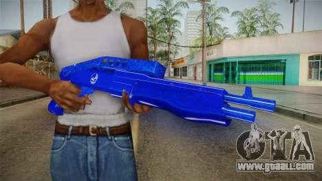 Dark Blue Weapon 3 for GTA San Andreas third screenshot