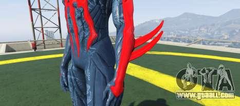 GTA 5 Spiderman 2099 second screenshot