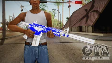 Blue Weapon 2 for GTA San Andreas third screenshot