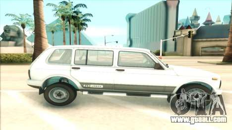 Lada Niva Urban for GTA San Andreas left view