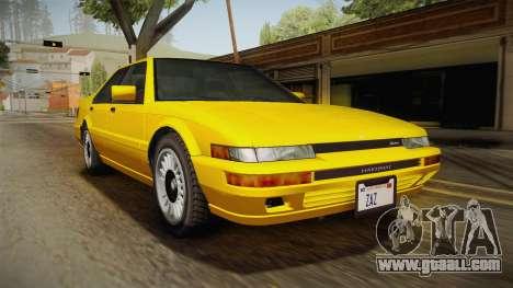 GTA 4 Dinka Hakumai SA Style for GTA San Andreas