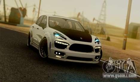 Porsche Cayenne Hamann Guardian Evo for GTA San Andreas