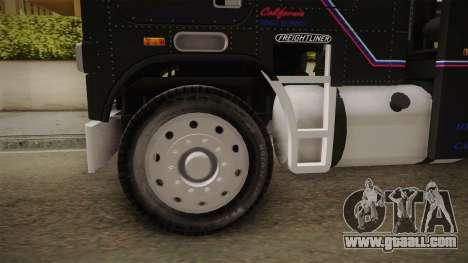 Freightliner FLA 9664 v1.0 for GTA San Andreas back view