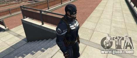 GTA 5 Captain America The Winter Soldier third screenshot
