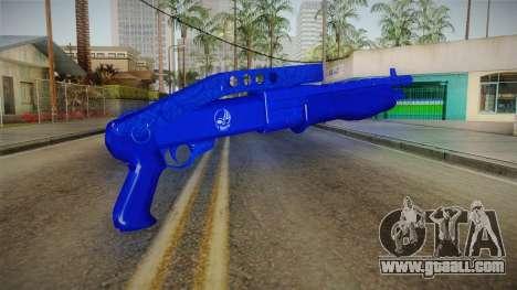 Dark Blue Weapon 3 for GTA San Andreas second screenshot