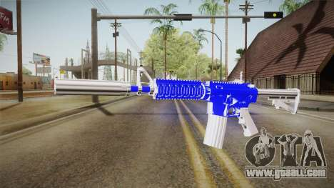 Blue Weapon 2 for GTA San Andreas