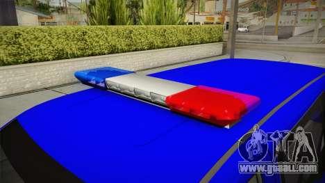 Mercedes-Benz Vito Turkish Gendarmerie for GTA San Andreas upper view