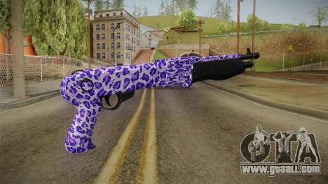 Tiger Violet Shotgun 2 for GTA San Andreas second screenshot