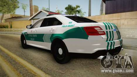 Ford Taurus Turkish Highway Patrol for GTA San Andreas left view