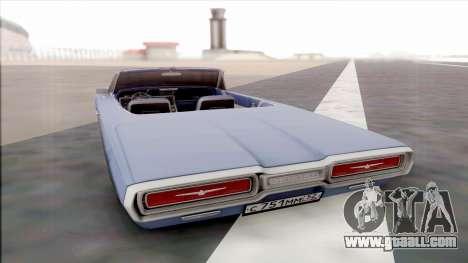 Ford Thunderbird for GTA San Andreas right view