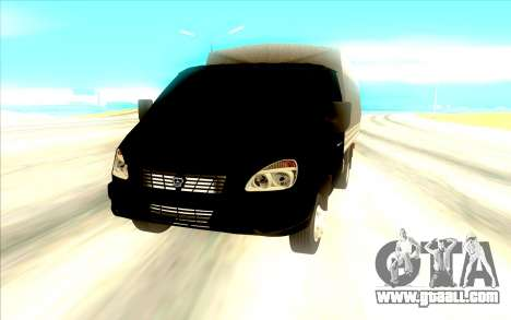 GAZ 3302 for GTA San Andreas back view
