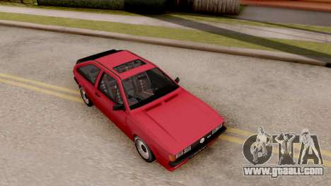 Volkswagen Scirocco Mk2 Stock for GTA San Andreas