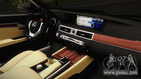 Lexus LS 460 Interior for GTA San Andreas inner view