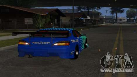 Nissan Silvia S15 Drift Style for GTA San Andreas right view