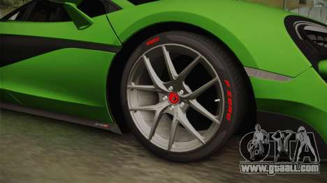 McLaren Vorsteiner 570-VX for GTA San Andreas back view