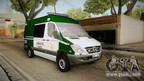 Mercedes-Benz Sprinter GC Trafico Spanish for GTA San Andreas