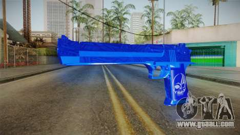 Dark Blue Weapon 1 for GTA San Andreas
