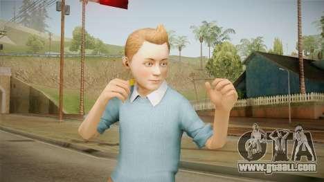 Tintin for GTA San Andreas