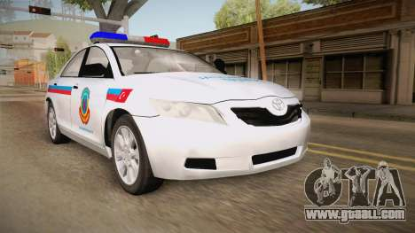 Toyota Camry Turkish Gendarmerie Traffic Unit for GTA San Andreas