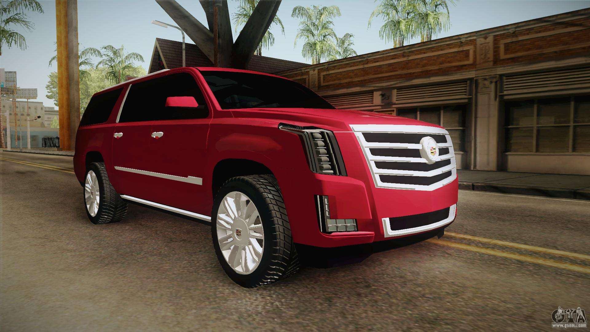 cadillac escalade 2016 for gta san andreas. Black Bedroom Furniture Sets. Home Design Ideas