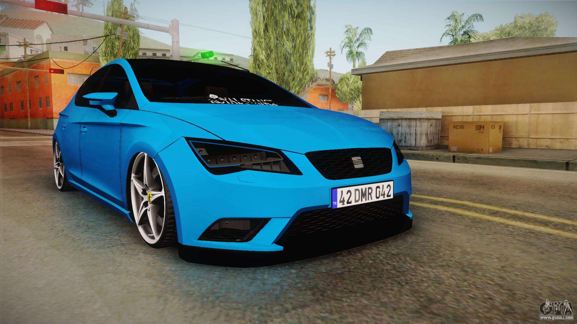 seat leon fr blue for gta san andreas. Black Bedroom Furniture Sets. Home Design Ideas