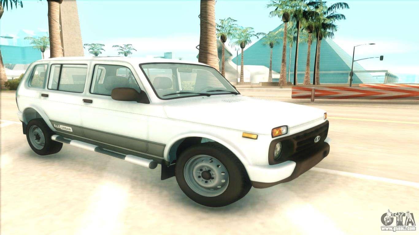 Lada niva urban for gta san andreas for Lada 09 salon