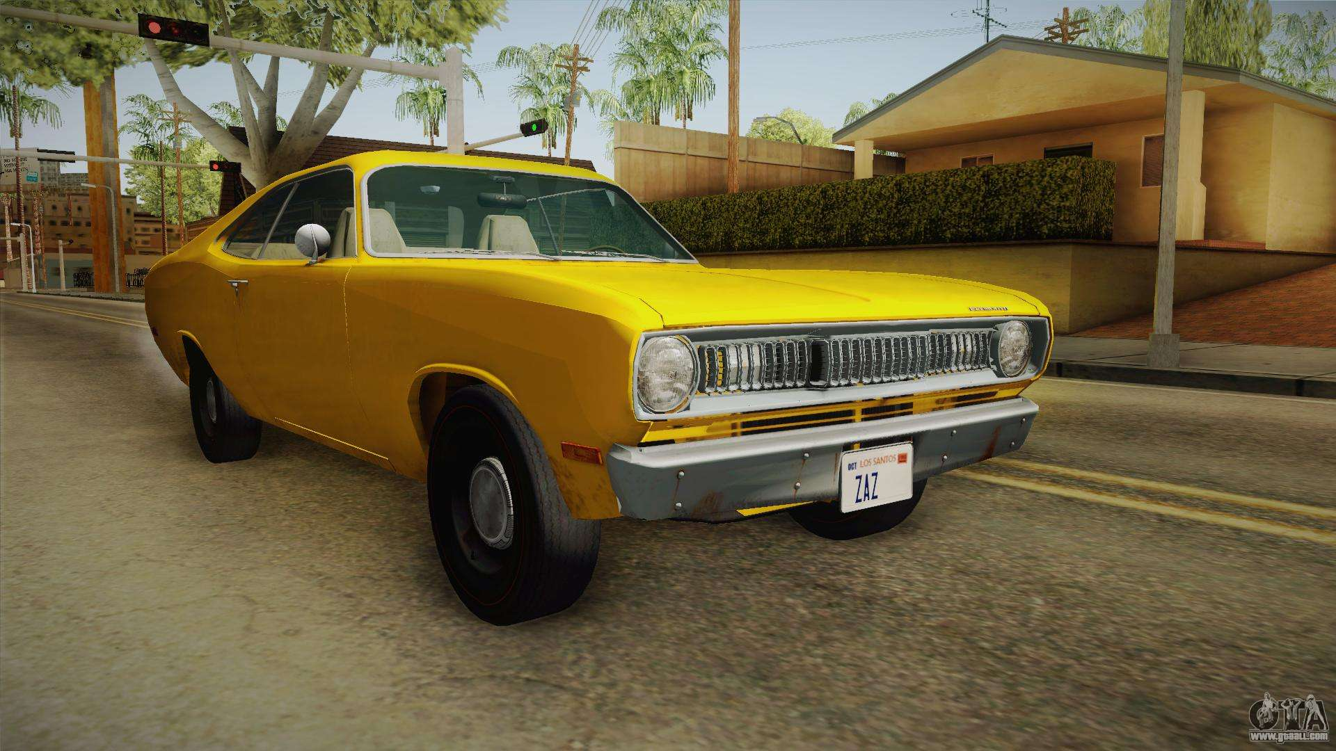 plymouth duster 1972 for gta san andreas. Black Bedroom Furniture Sets. Home Design Ideas
